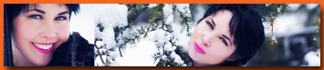 Snow Girl Banner Fionnoula in Snow at Birmingham Edgbaston Photography by Evans Cheuka