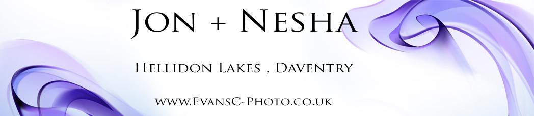 banner Jon and nesha wedding photography Hellidon Lakes Daventry Northampton