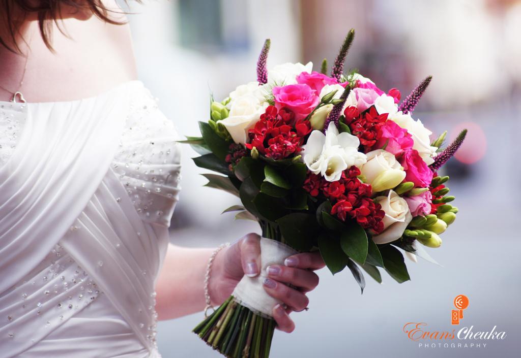 Flowers Wedding Photography in Lichfield